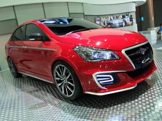 Suzuki Showcases Special Ciaz Concept In Thailand Before Launch