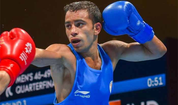 Amit Panghal Indian Boxer