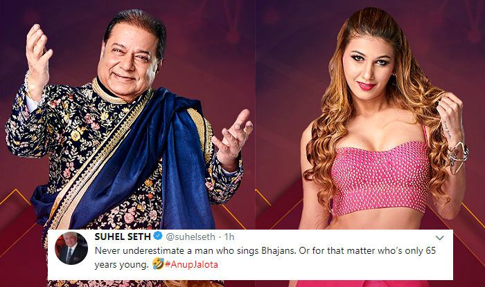 Image result for anup jalota with gf