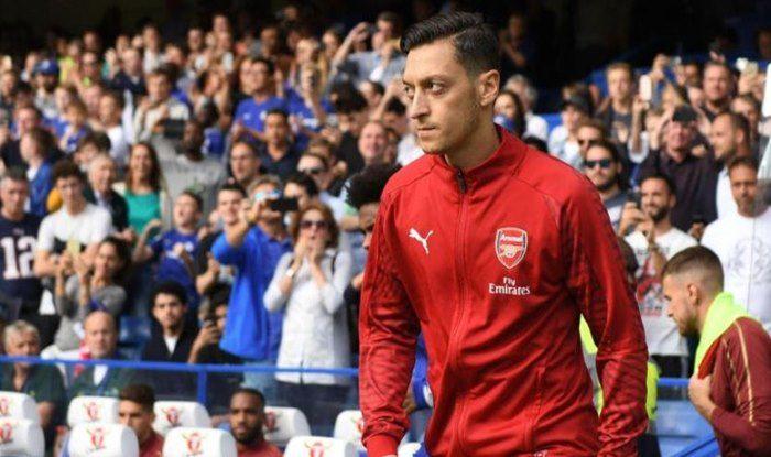 Arsenal's Mesut Ozil- picture credits-twitter