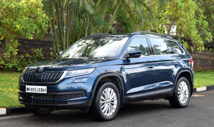 Skoda Kodiaq India Launch Today Expected Price Review Interior Specs Ground Clearance Images