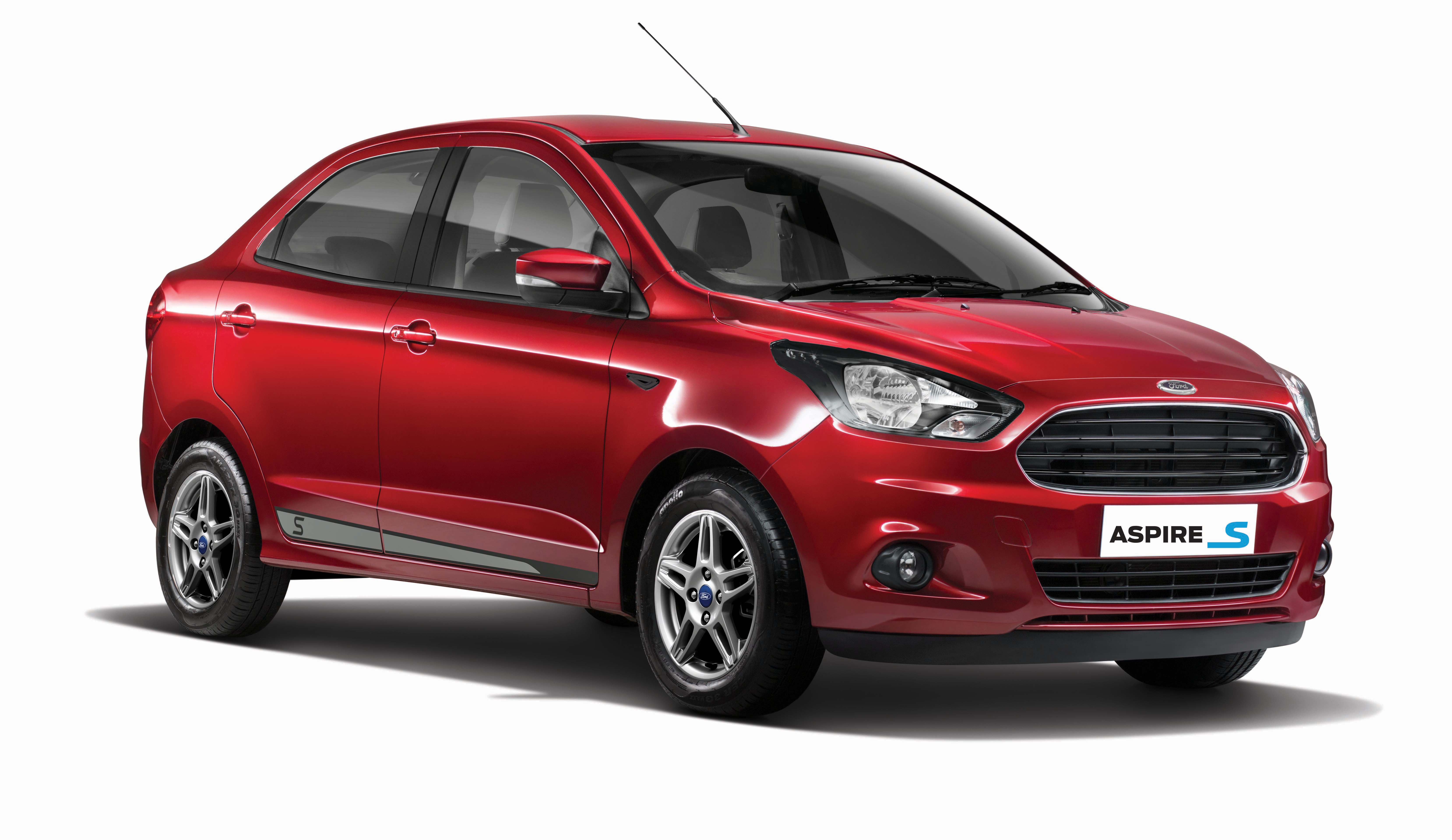 Ford figo aspire s launched at inr 6 51 lakh in india