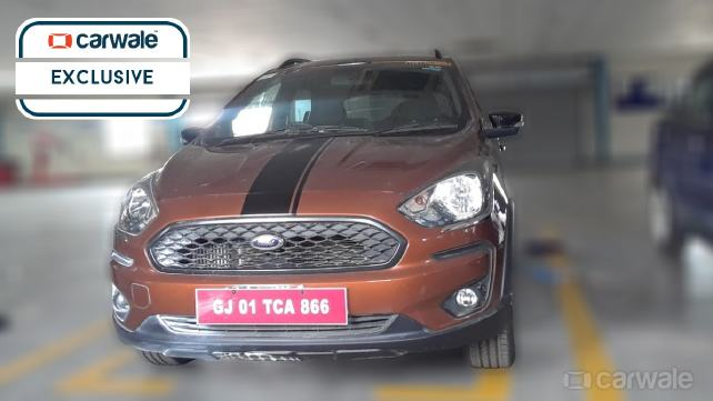 New Ford Figo Cross Spied Uncamouflaged Ahead Of Launch Price In