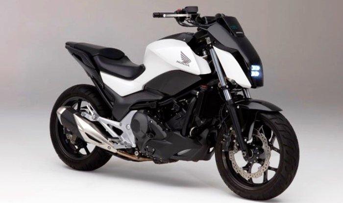 Ces 2017 Honda Riding Ist Self Balancing Motorcycle Revealed