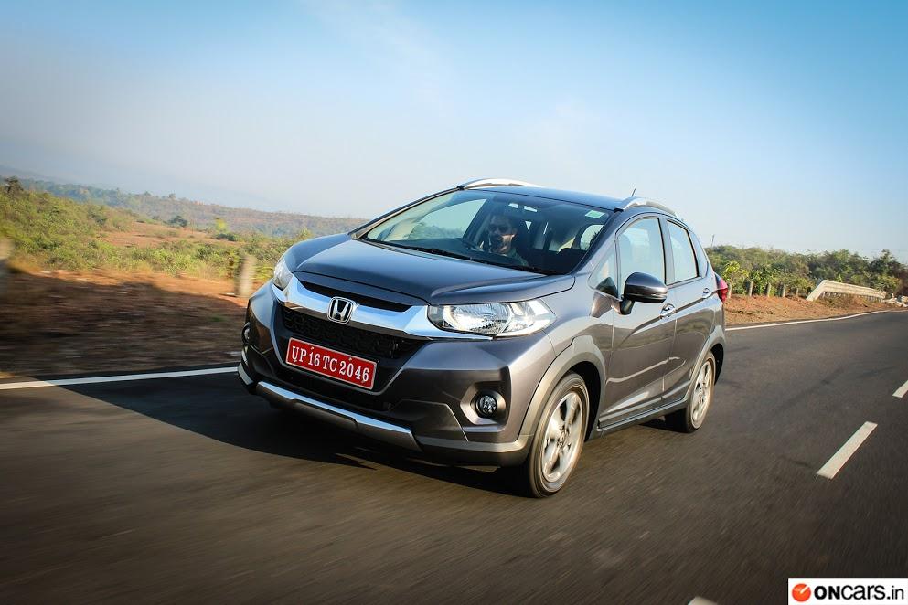 Honda Wr V First Drive Report Car Reviews News Indiacom