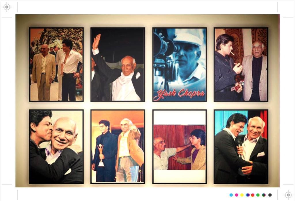 In 2015, SRK shared a collage of pics of himself and Yash Chopra and claimed that he was the coolest youngster that he had ever known, implying Yash Chopra being young at heart irrespective of his age.
