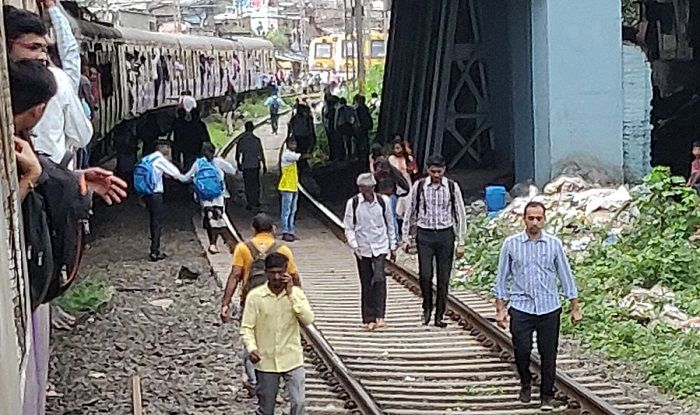 Mumbai Local Train Services Hit on Harbour Line
