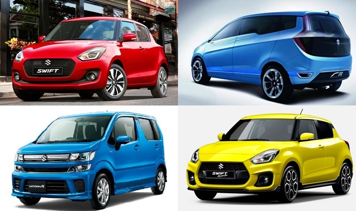 New Maruti Suzuki Swift Ertiga Crossover Mpv And 2018 Wagonr India