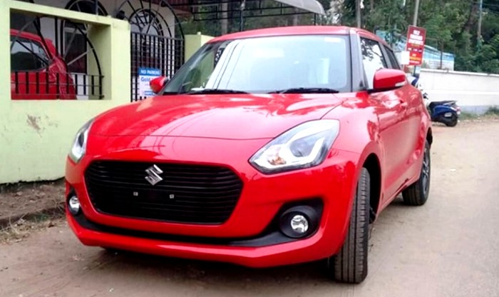 Maruti Swift 2018 Spotted Ahead Of Auto Expo Debut Sans Camouflage Price In India Likely To Start From Inr 5 Lakh