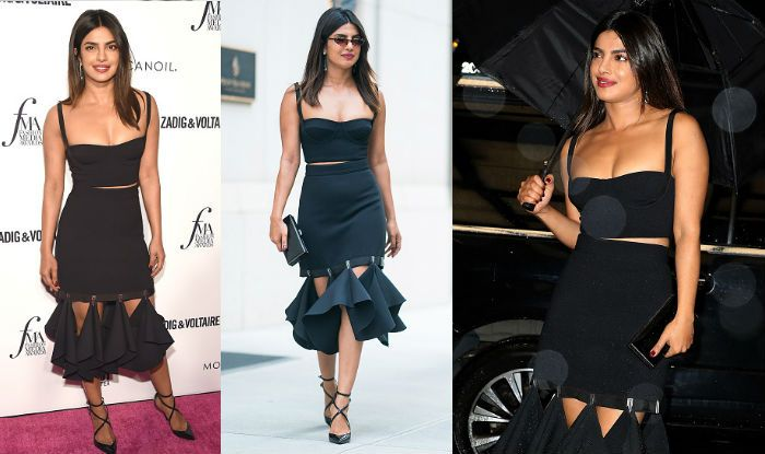 Priyanka Chopra Never Looked Sexier In A Black Dress Her Latest