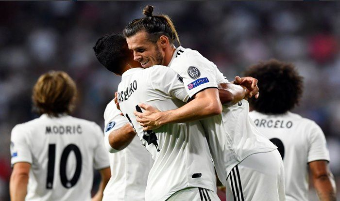 Real Madrid coach Solari: Goal will do Bale good