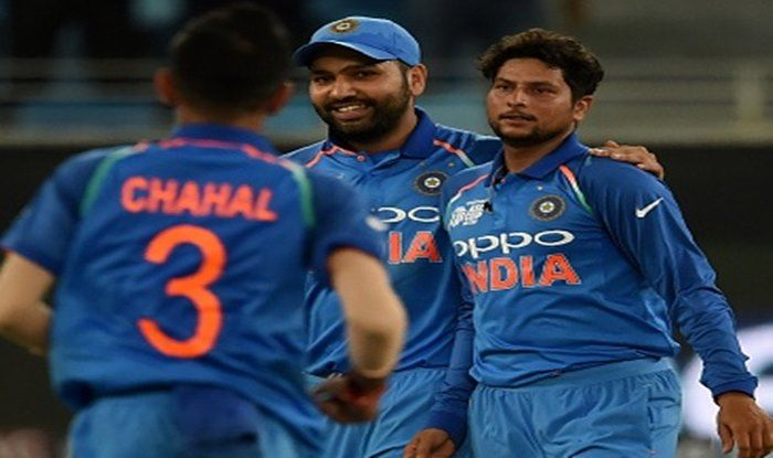 India vs West Indies 1st T20I, Live Cricket Score: Kuldeep Yadav Bags Three as India Rattle Windies at Edens