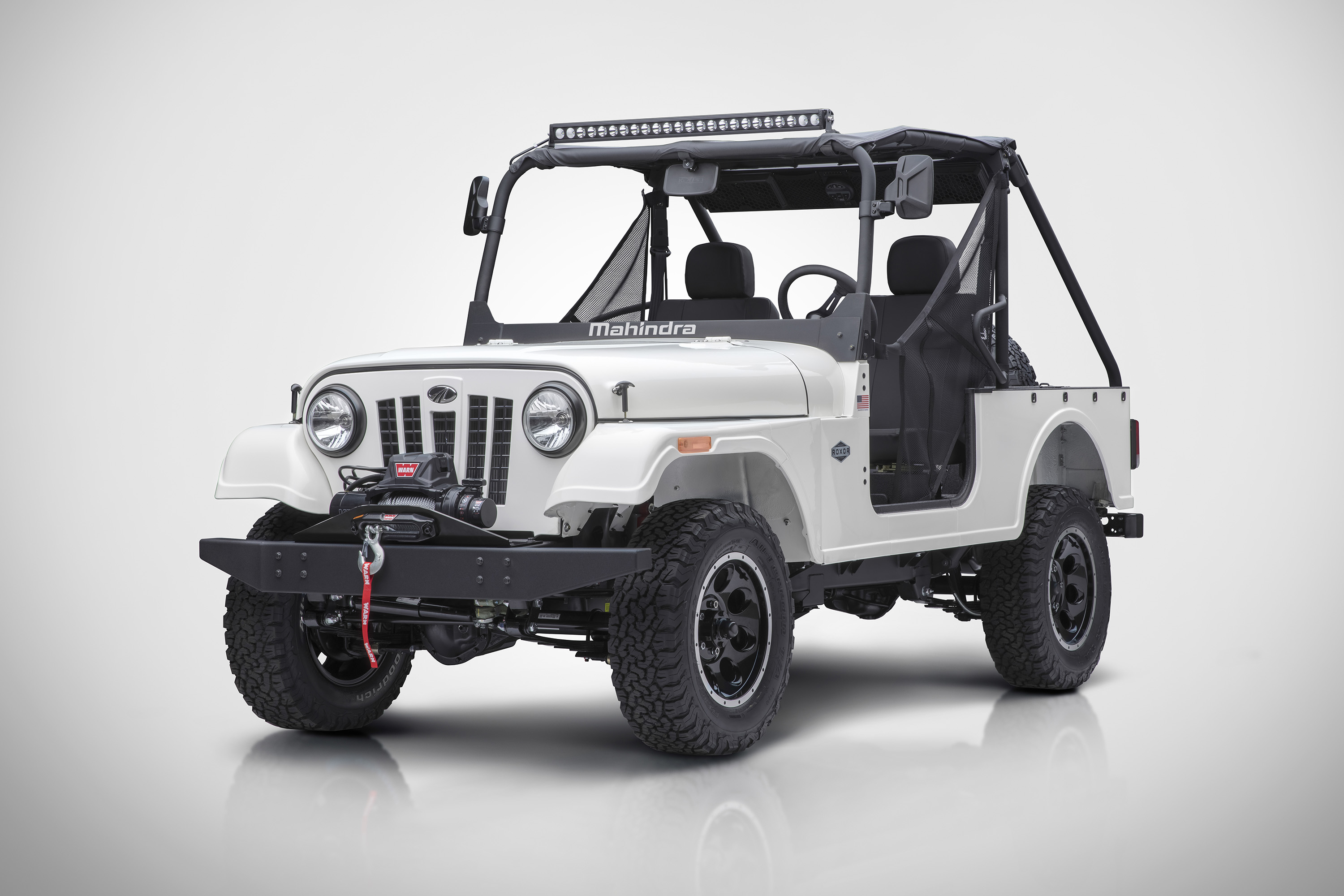 Mahindra Roxor Officially Unveiled For Usa Market Price Specs