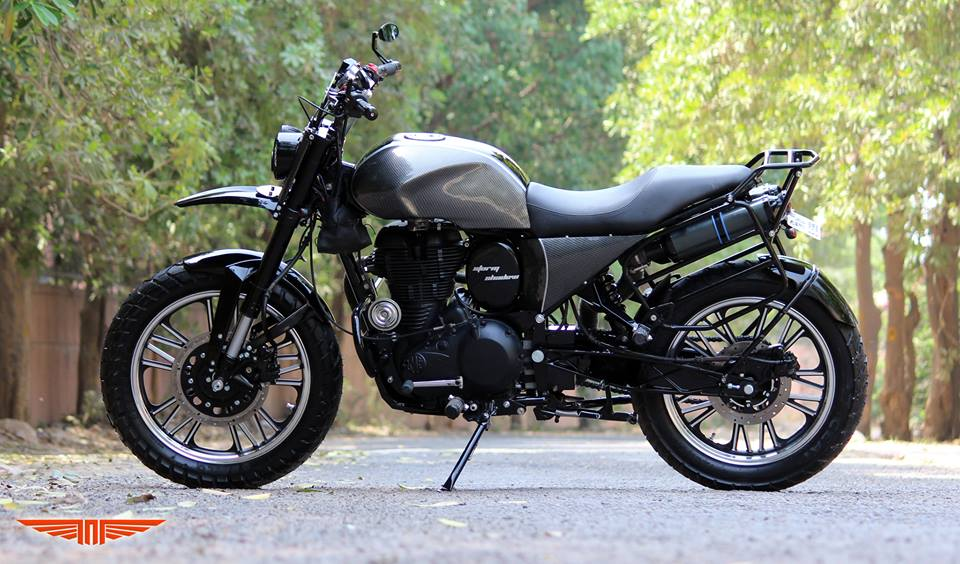 This Classic 500 Scrambler Will Make You Hard To Believe