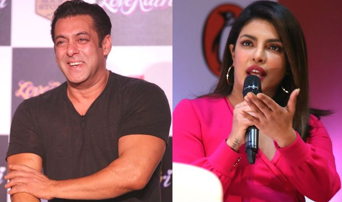 Salman Khan Takes a Jibe at Priyanka Chopra For Leaving Bharat And Giving no Time to Katrina Kaif For Preparation