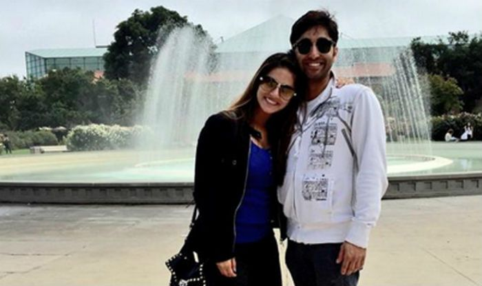 Sunny Leone with her brother, Sundeep Vohra