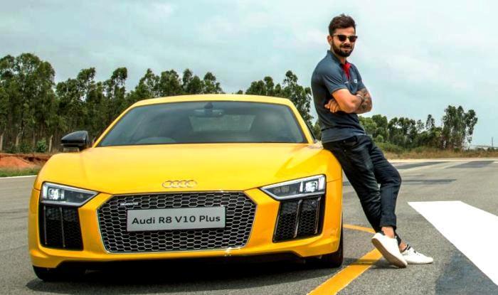 Virat Kohli And His Exotic Car Collection Audi R8 V10 Plus A8l