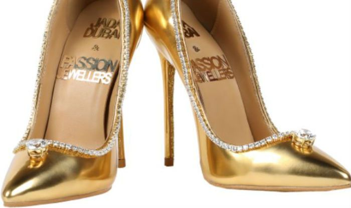 World's Most Expensive Footwear Made From Real Gold And ...