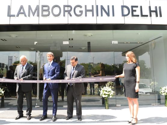 Lamborghini India Opens New Showroom In New Delhi News Cars News