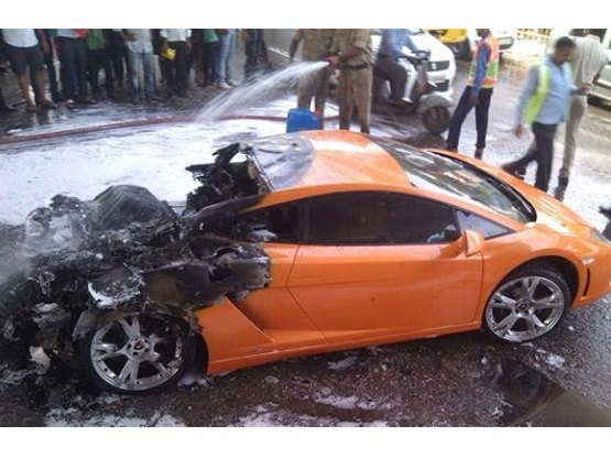 This Is What Happened To An Inr 2 5 Crore Lamborghini Gallardo On