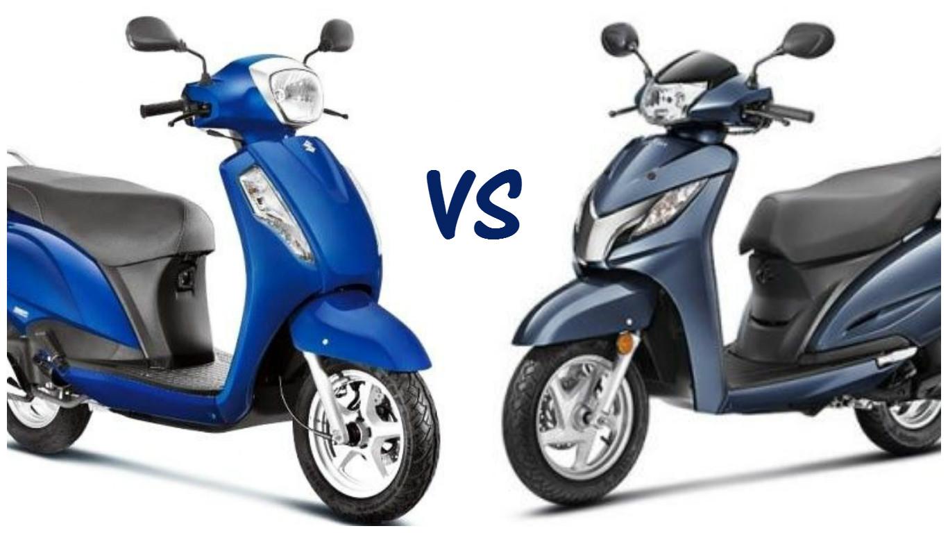 Suzuki Access 125 Vs Honda Activa 125 Price Features And