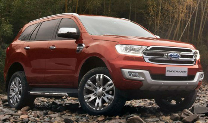 Ford Endeavour Manual Variants Discontinued Now Available Only
