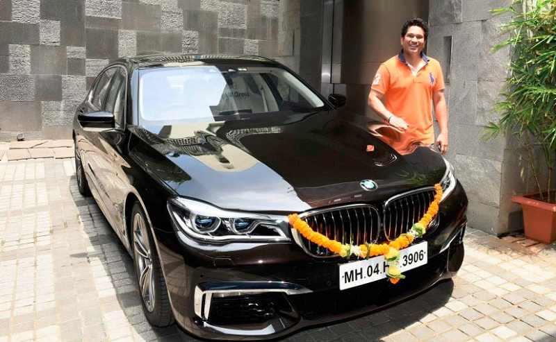 Sachin Tendulkar Becomes Proud Owner Of Customized Bmw 750li M Sport