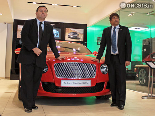 2011 Bentley Continental Gt Launched In India News Cars News