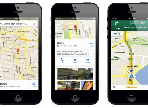 Google Maps for iOS hits 10 million download mark within 48 hours of on