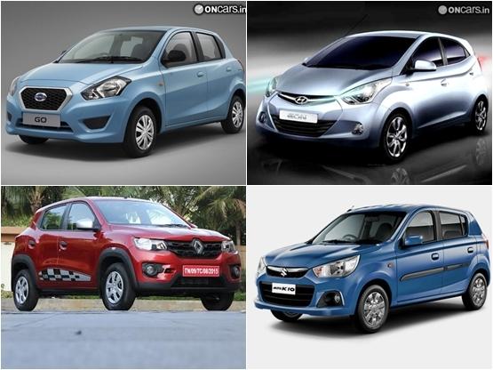 Renault Kwid 10 Litre Price Vs Maruti Alto K10 Vs Hyundai Eon Vs