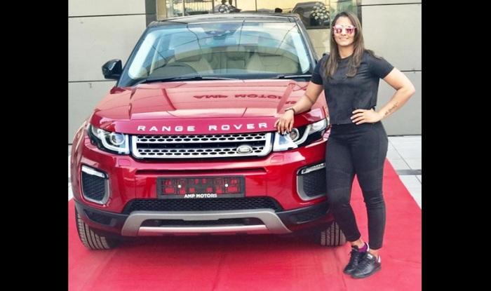 Geeta Phogat Buys New Land Rover Range Rover Evoque News Cars News