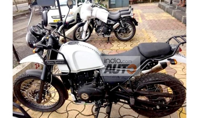 Royal Enfield Himalayan Fi Bs 4 Images Leaked Price In India