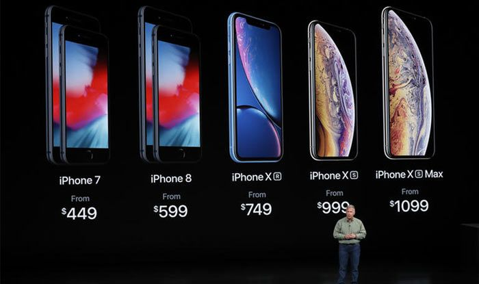 Apple Launches iPhone XS, XS Max And XR, Unveils Watch ...