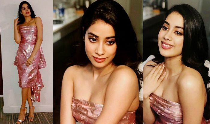 Check Out The Pro Pics From Our Hot Pink Destination: Janhvi Kapoor Wears An Off-Shoulder Pink Hot Dress At An