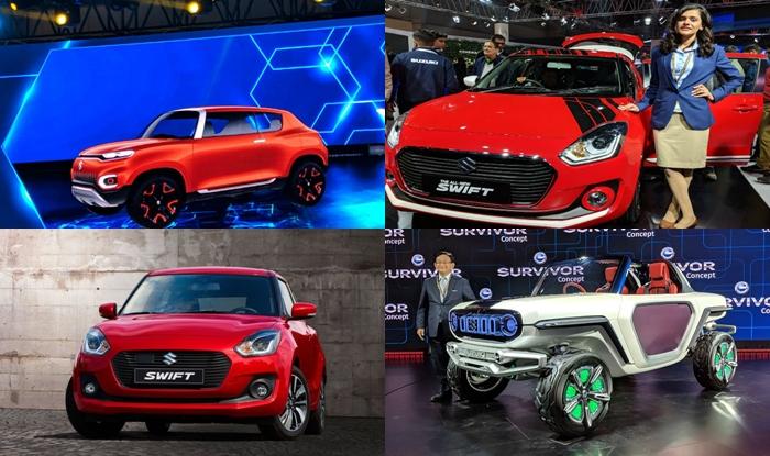 Maruti Suzuki Cars At Auto Expo 2018 New Swift 2018 Future S