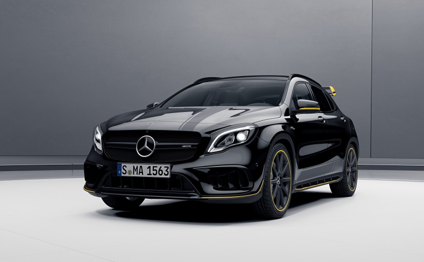 Mercedes Amg Cla 45 Gla Facelift India Launch On November 9 Price In Specs Features