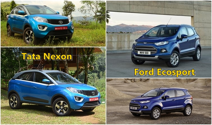 Tata Nexon Vs Ford Ecosport Comparison Price In India Images Interior
