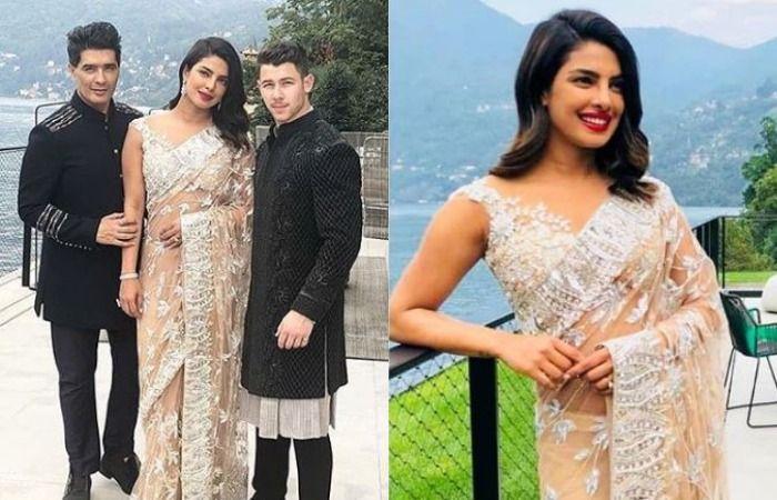 Image result for latest images of priyanka chopra at isha ambani engagement bash