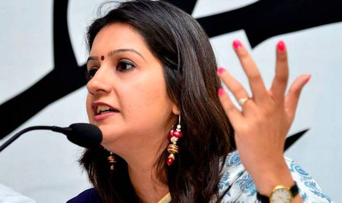 Congress Spokesperson Priyanka Chaturvedi Lashes Out Against Her Party