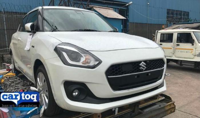 New Maruti Suzuki Swift 2018 First Spy Images In India Leaked
