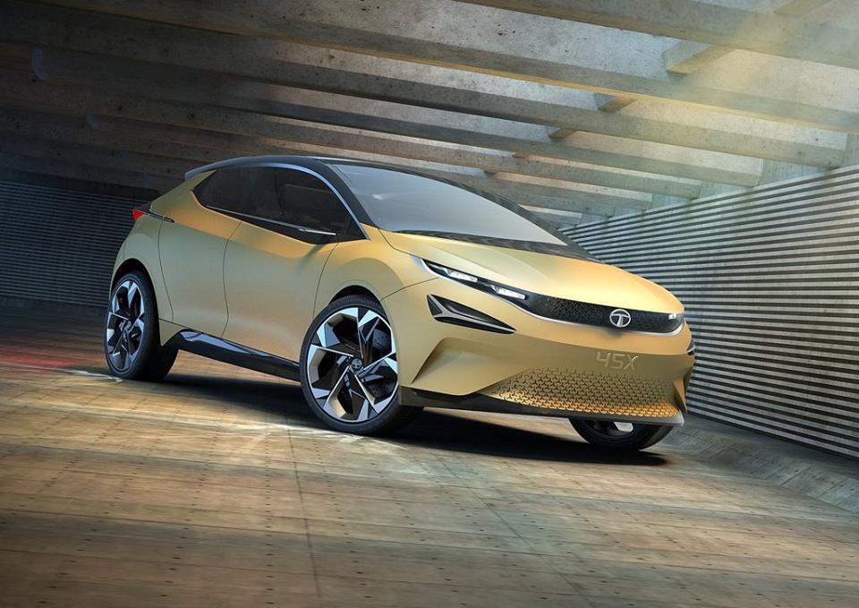 Tata 45x Baleno Rival Premium Hatchback Interior Images Revealed
