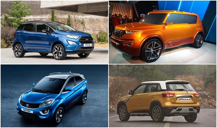 Top 5 Upcoming Sub Compact Suvs In India 2017 18 New Ford Ecosport Maruti Brezza Petrol Tata Nexon Amt Hyundai Carlino