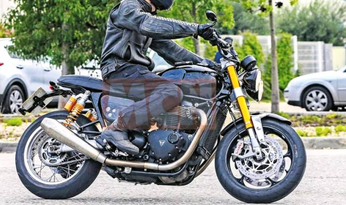 Triumph Speed Twin Spied Testing Ahead Of Launch In 2017 News
