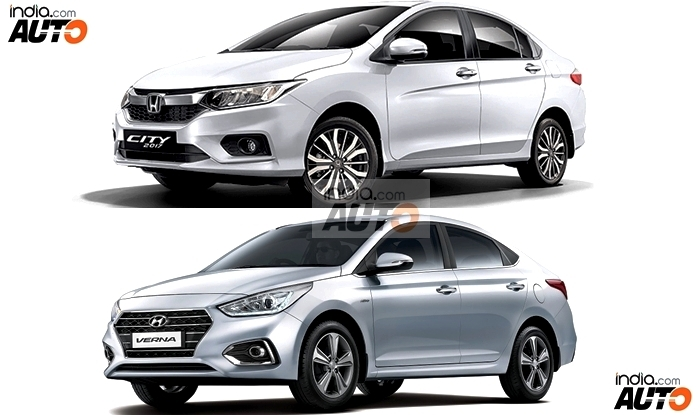 Hyundai Verna 2017 Vs Honda City 2017 Price In India Maintenance