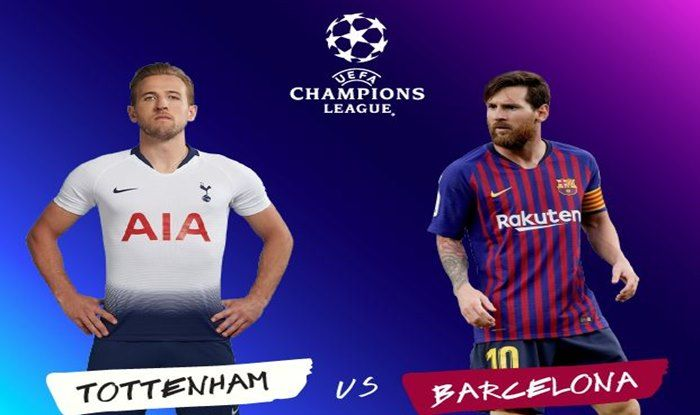 Image result for Barcelona vs Tottenham Hotspur Live