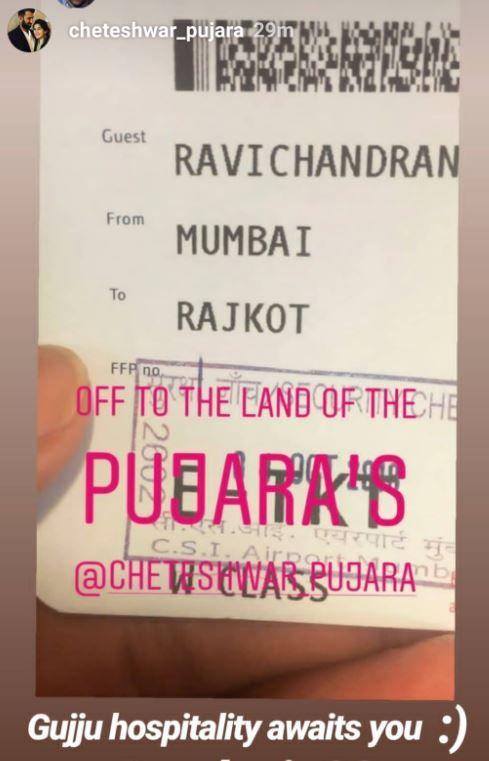 Pujara's response