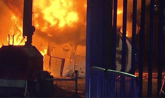 Leicester City Fc helicopter Crash_Picture credits-twitter