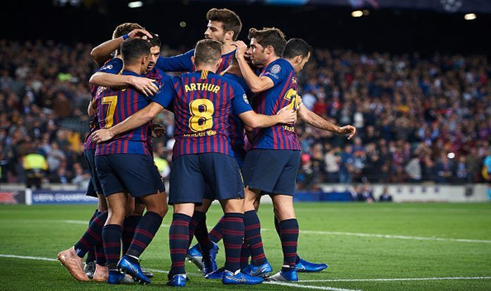 Lionel Messi-Less Barcelona Cruise Past Inter Milan in UEFA Champions League