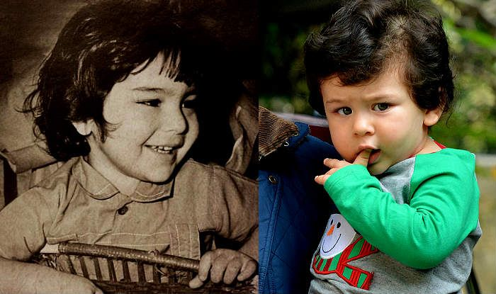 Saif Ali Khan's Childhood Picture Goes Viral Because he ...
