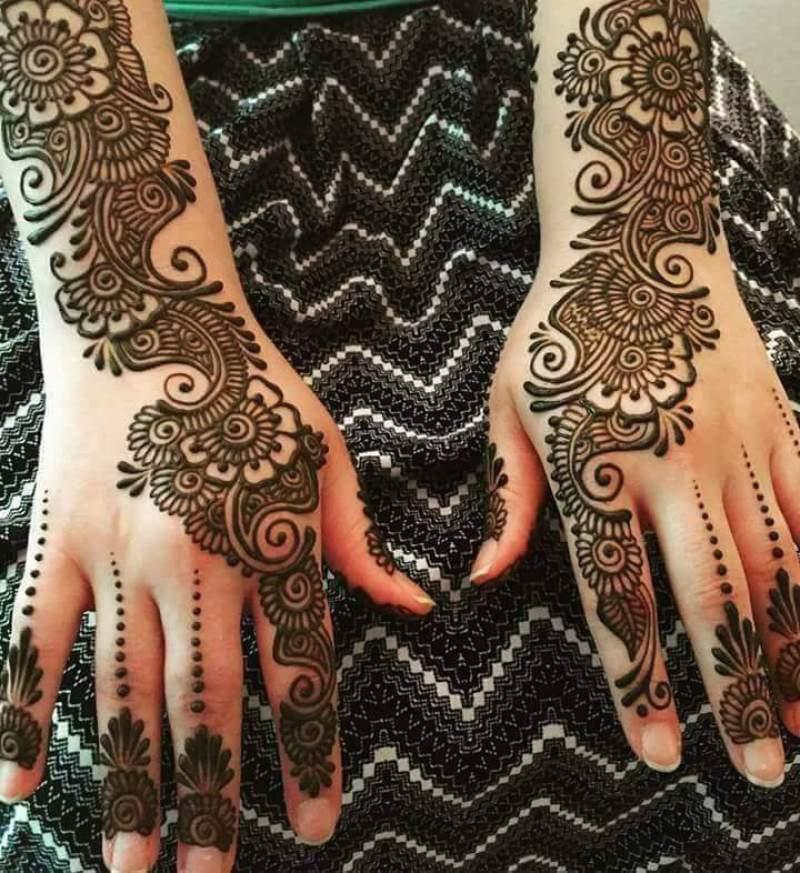 Karwa chauth 2018 mehndi designs trendy mehndi design 2018